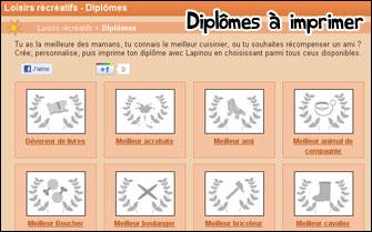 Diplomes Personnalisables Blog De Lapinou